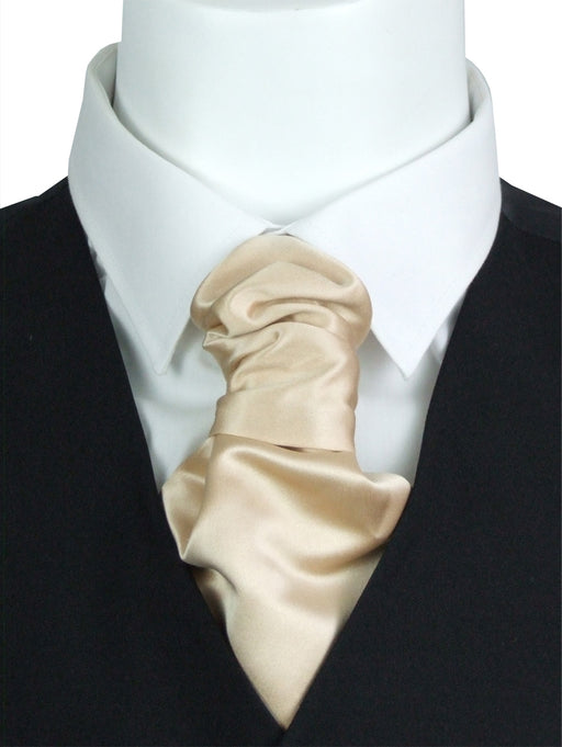 Ecru Boys Wedding Cravat