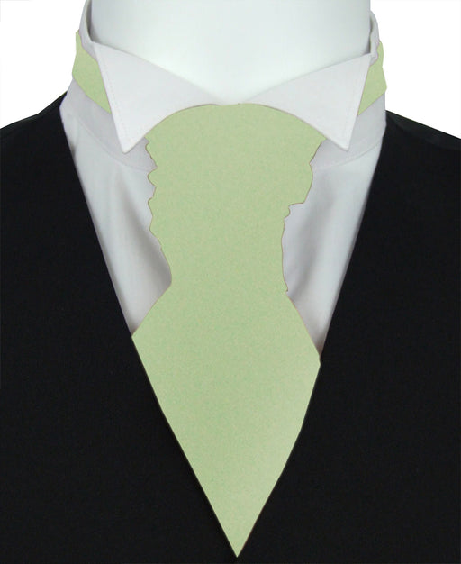 Mint Green Boys Wedding Cravat