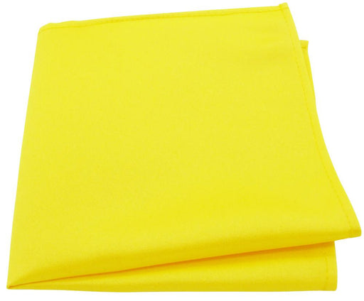Daffodil Yellow Pocket Square - Wedding