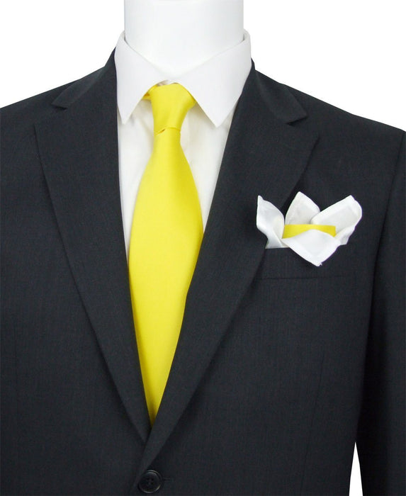 Daffodil Yellow Wedding Tie - Wedding