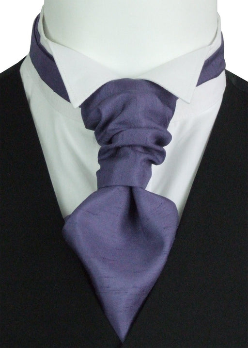 Damzen Shantung Pre-Tied Wedding Cravat - Wedding