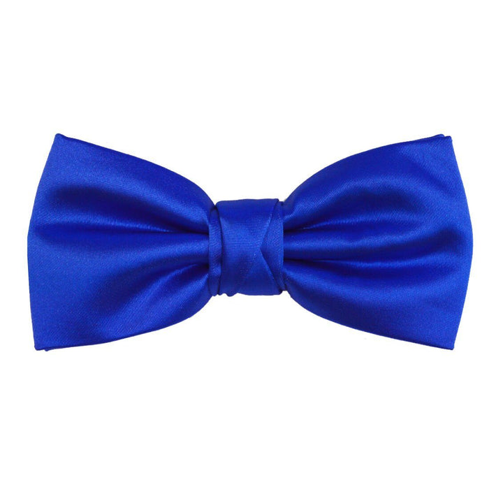 Dark Cornflower Blue Bow Tie - Wedding