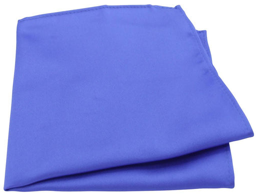 Dark Cornflower Blue Pocket Square - Wedding
