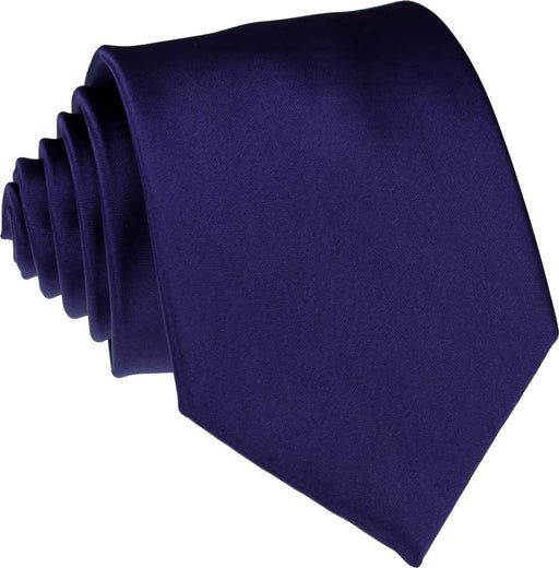 Dark French Navy Skinny Wedding Tie - Wedding