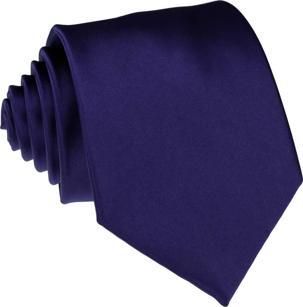 Dark French Navy Wedding Tie - Wedding