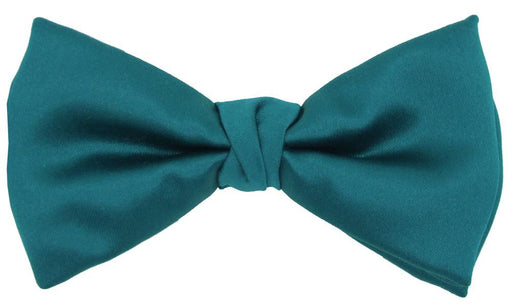 Dark Teal Bow Tie - Wedding