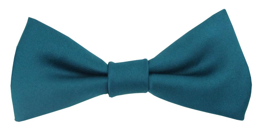 Dark Teal Boys Bow Tie - Childrenswear