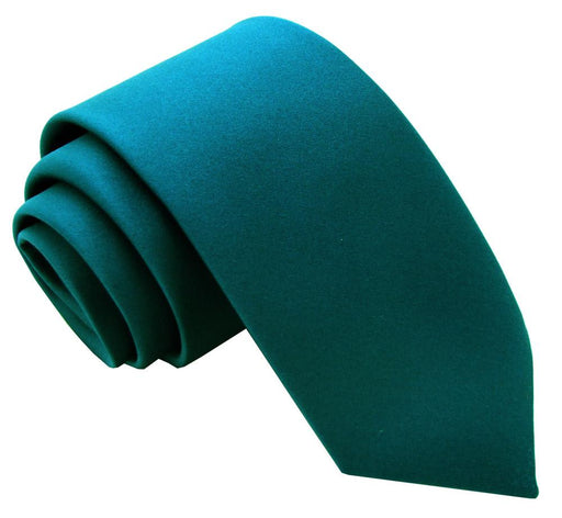 Dark Teal Boys Tie - Childrenswear