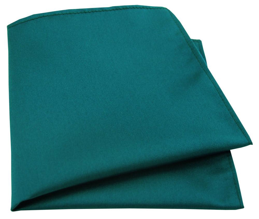 Dark Teal Pocket Square - Wedding