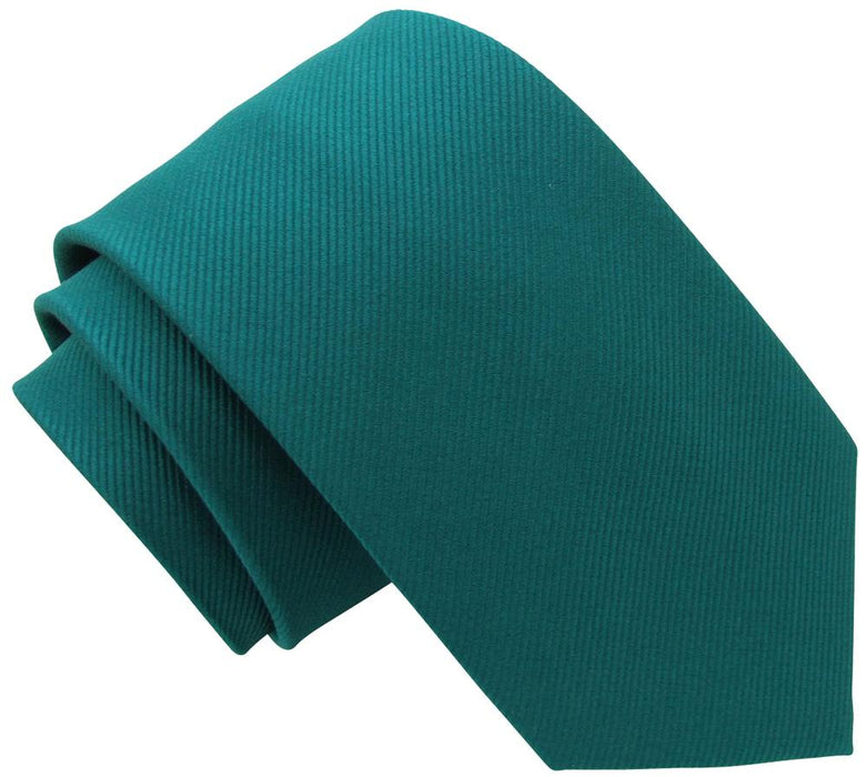 Dark Teal Silk Wedding Tie - Wedding