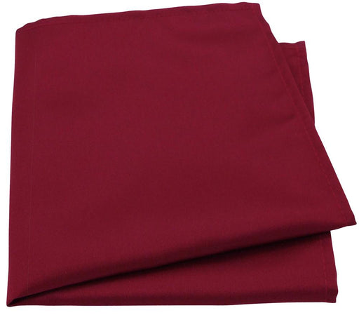 Deep Red Pocket Square - Wedding