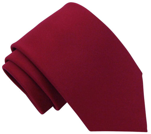 Deep Red Wedding Tie - Wedding