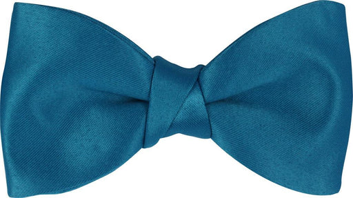 Deep Turquoise Boys Bow Tie - Childrenswear