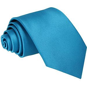 Deep Turquoise Boys Tie - Childrenswear