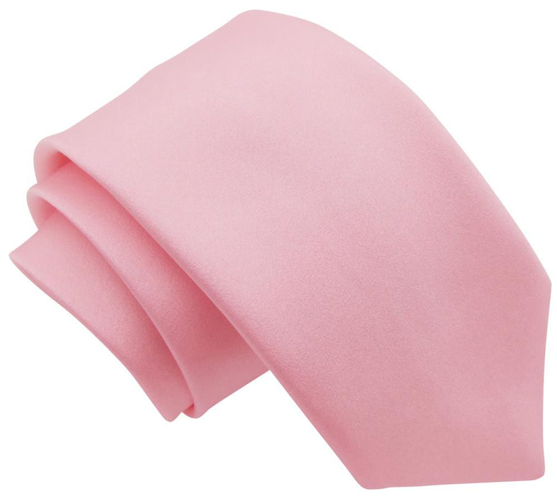 Delicate Pink Boys Tie - Childrenswear