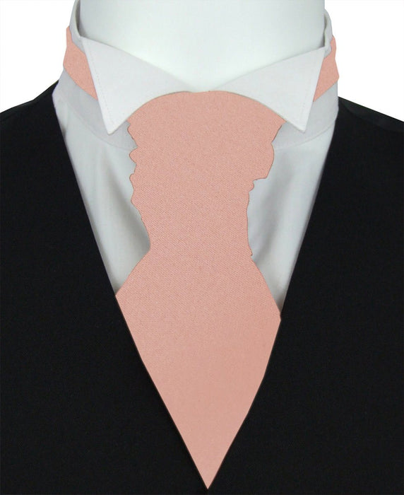 Desert Rose Boys Pre-Tied Wedding Cravat - Childrenswear