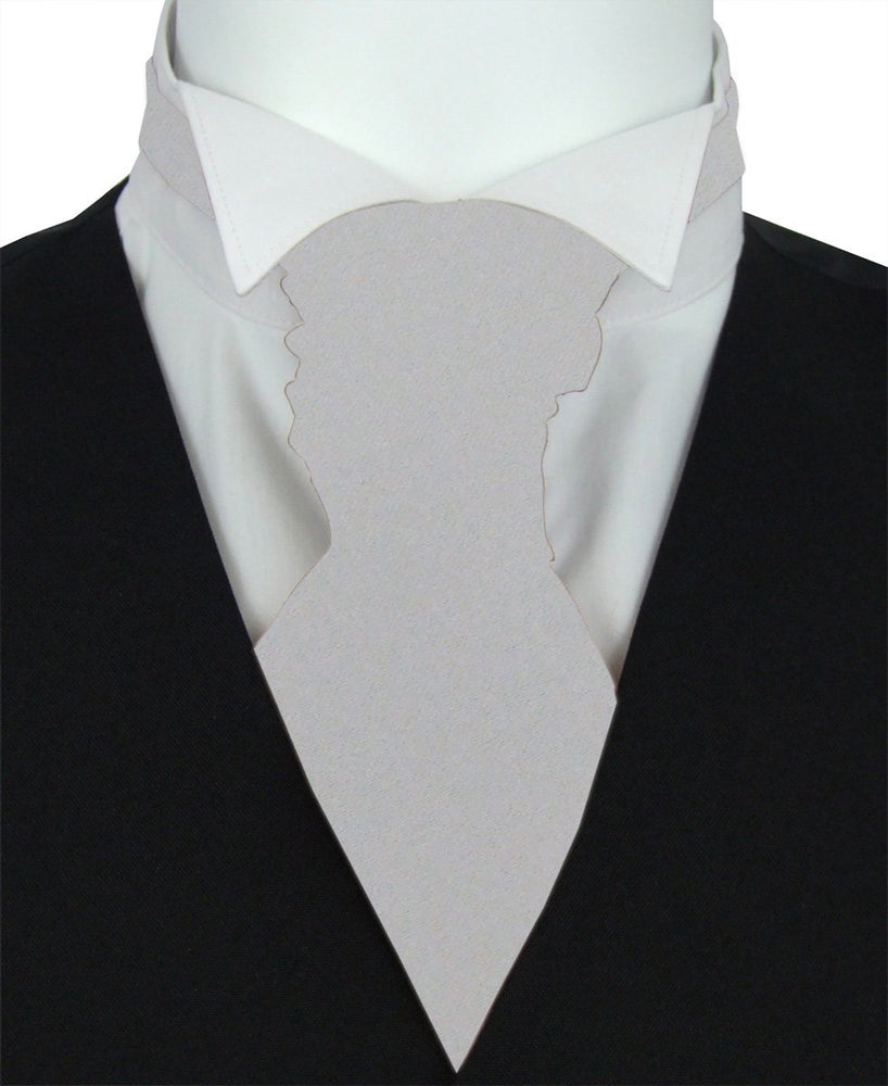 Dove Boys Pre-Tied Wedding Cravat - Childrenswear