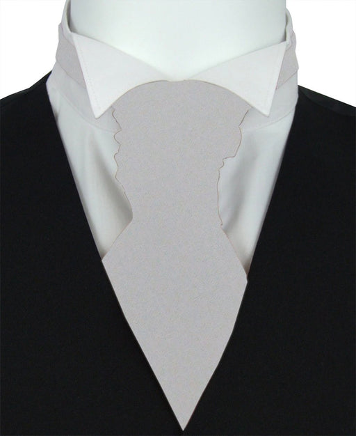 Dove Pre-Tied Wedding Cravat - Wedding