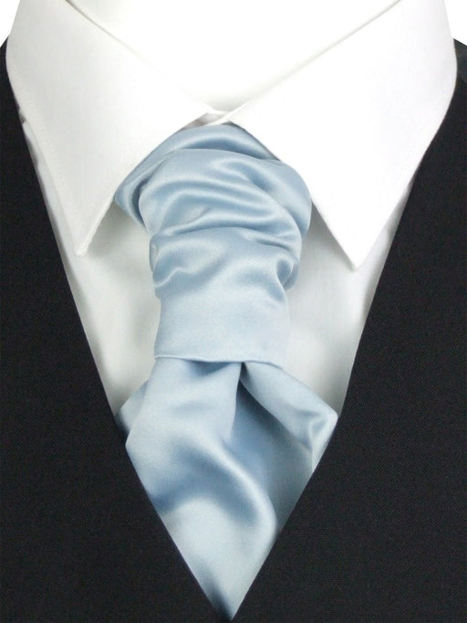 Duck Egg Pre-Tied Wedding Cravat - Wedding