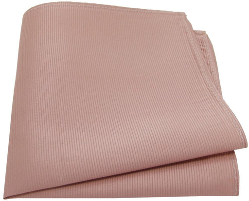 Dusky Blush Silk Pocket Square - Wedding