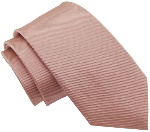 Dusky Blush Silk Wedding Tie - Wedding