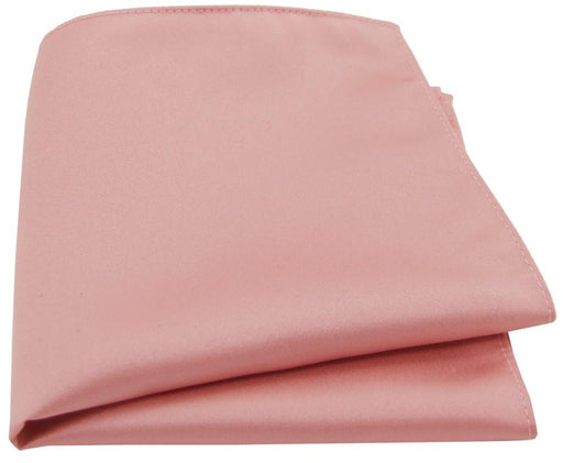 Dusty Rose Pocket Square - Wedding