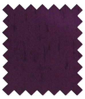 Elderberry Shantung Wedding Swatch - Wedding