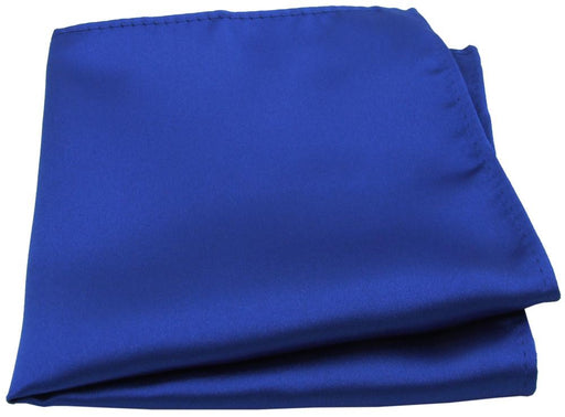 Electric Blue Pocket Square - Wedding