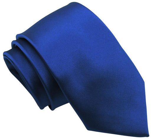 Electric Blue Skinny Wedding Tie - Wedding