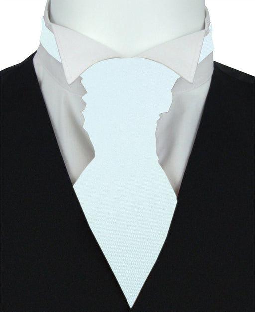 Forget Me Not Pre-Tied Wedding Cravat - Wedding