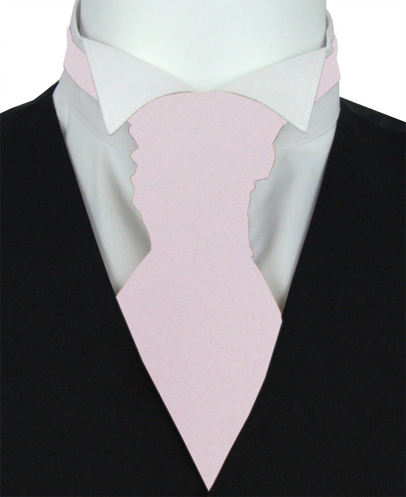 Frosted Fig Boys Pre-Tied Wedding Cravat - Childrenswear