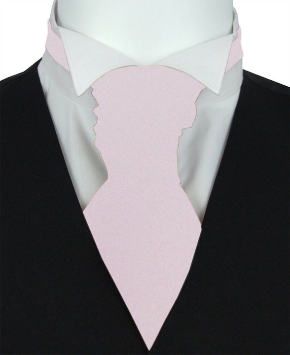 Frosted Fig Pre-Tied Wedding Cravat -