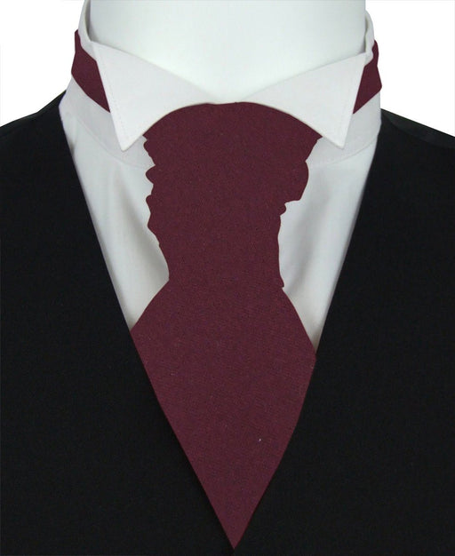 Garnet Boys Pre-Tied Wedding Cravat - Childrenswear