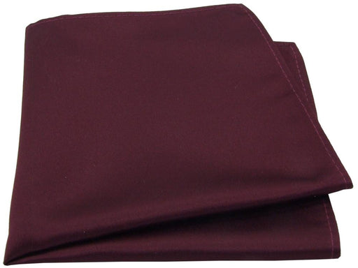 Garnet Pocket Square - Wedding