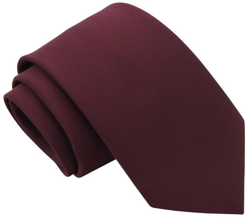 Garnet Skinny Wedding Tie - Wedding