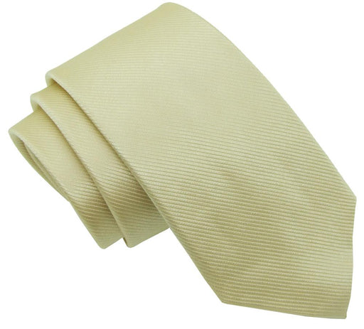 Gilded Gold Silk Wedding Tie - Wedding