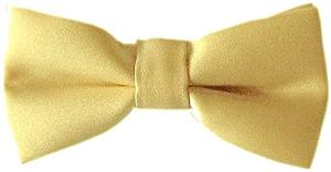 Gold Boys Bow Tie - Childrenswear