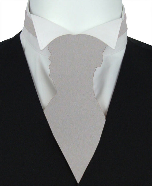 Granite Pre-Tied Wedding Cravat - Wedding