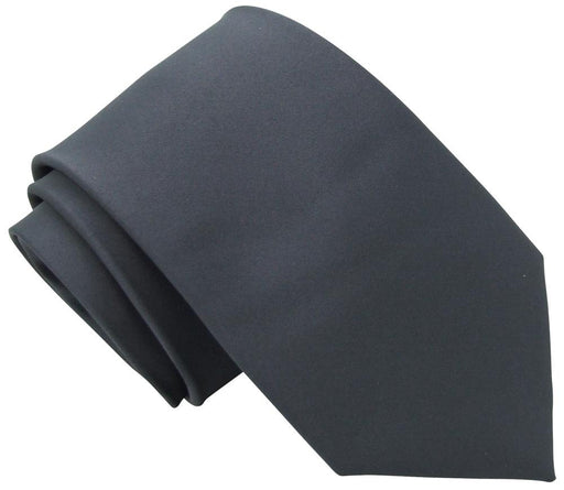 Graphite Wedding Tie - Wedding