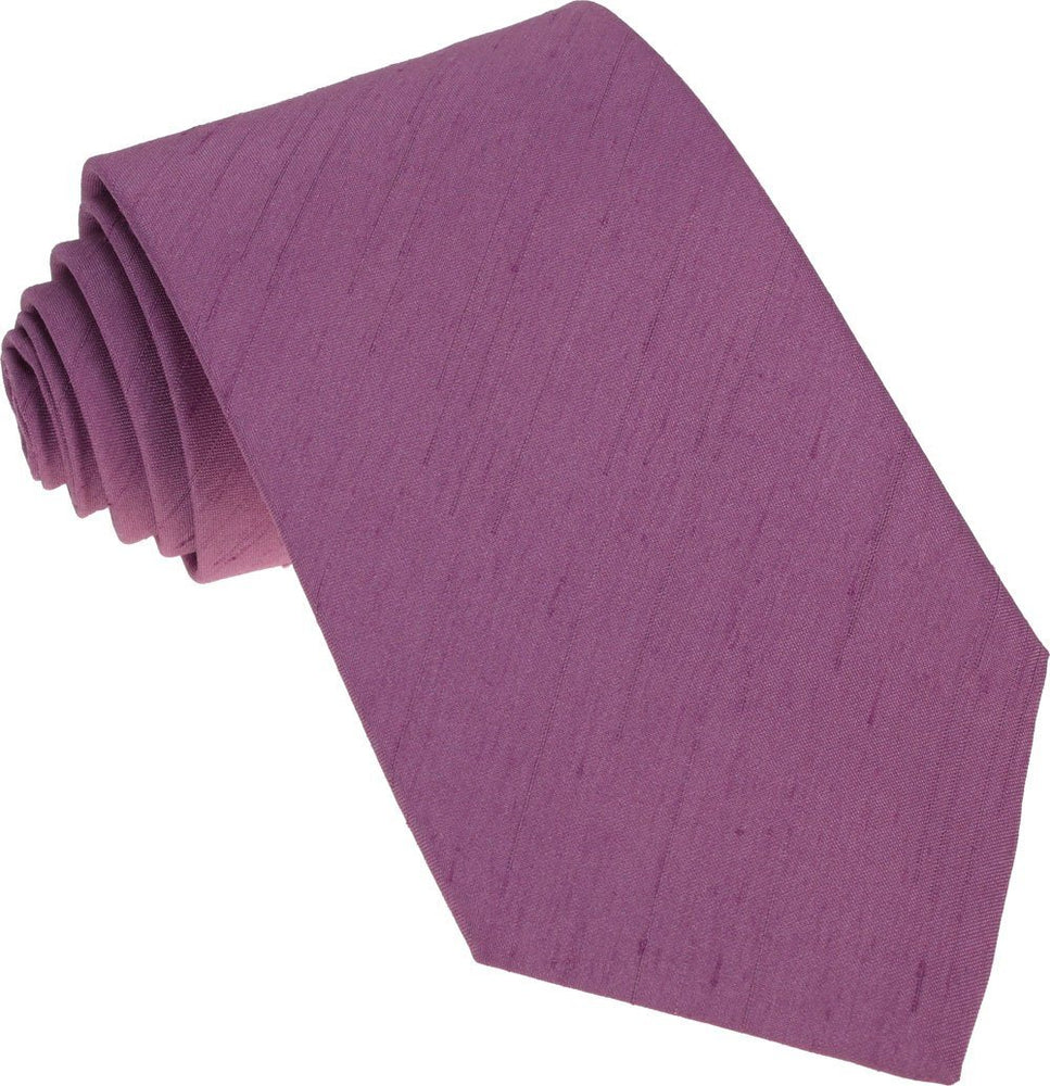 Heather Shantung Wedding Tie - Wedding