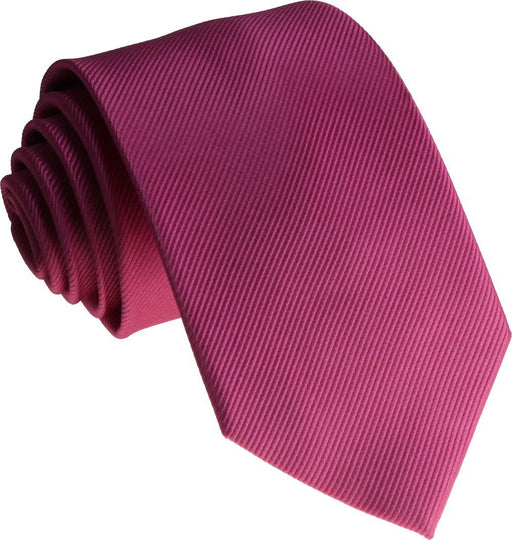 Hot Pink Silk Wedding Tie - Wedding
