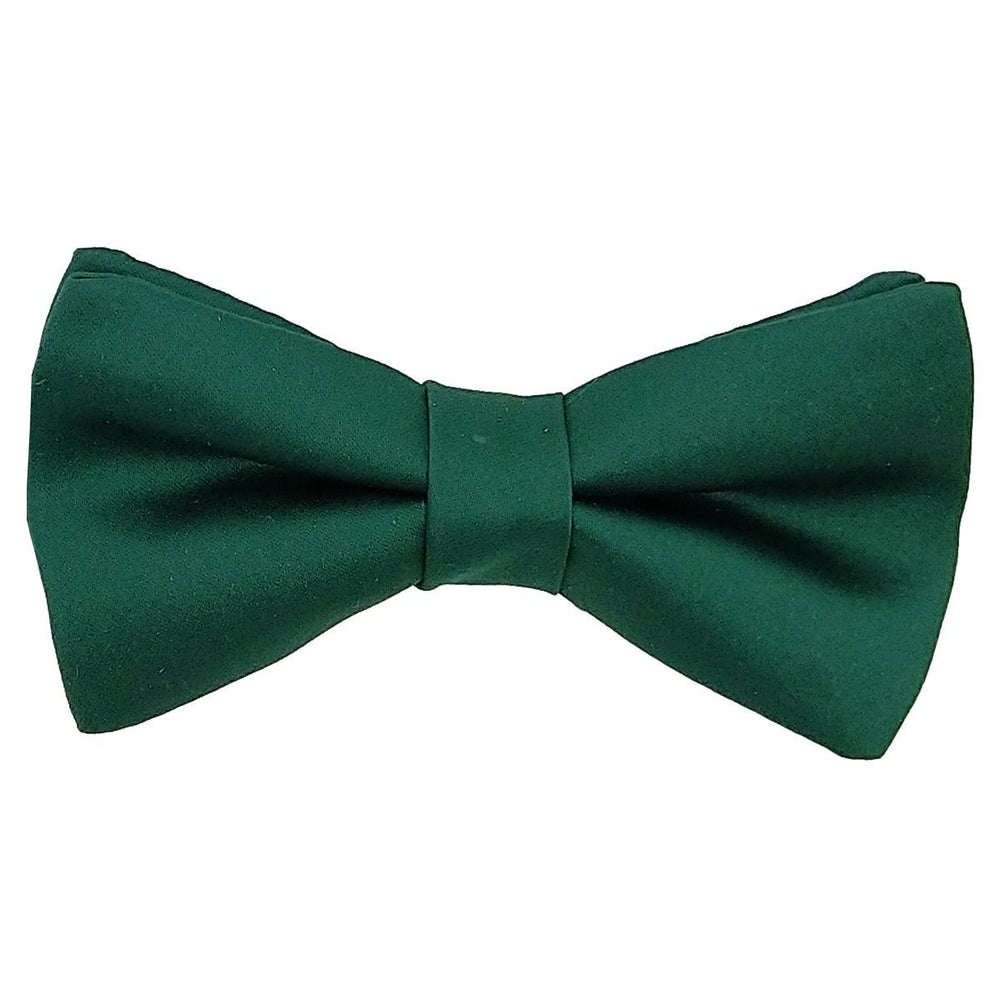 Hunter Green Boys Bow Tie - Childrenswear