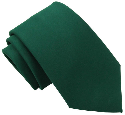 Hunter Green Boys Tie - Childrenswear