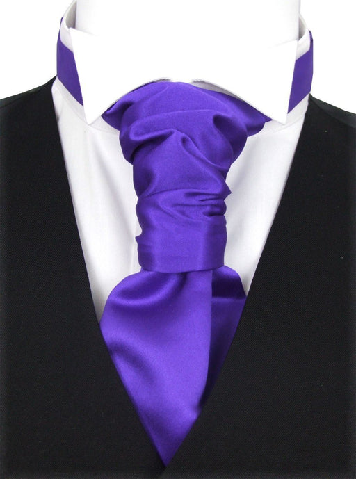 Indigo Pre-Tied Boys Wedding Cravat - Wedding