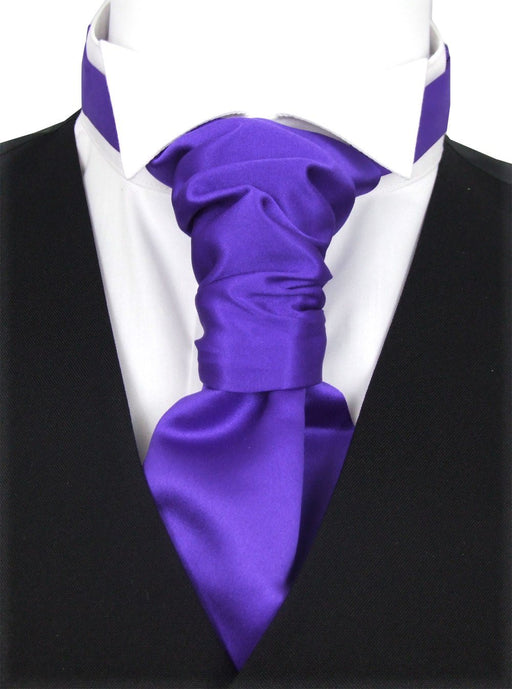Indigo Pre-Tied Wedding Cravat - Wedding