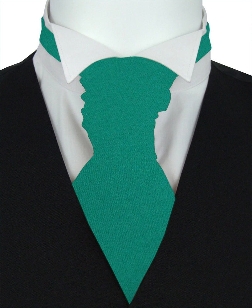 Jade Boys Pre-Tied Wedding Cravat - Childrenswear