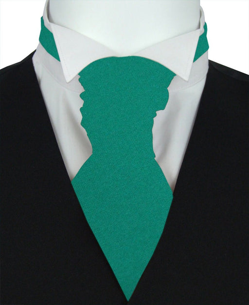 Jade Pre-Tied Wedding Cravat - Wedding
