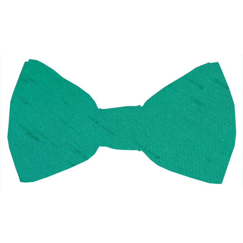 Jade Shantung Boys Bow Tie - Wedding