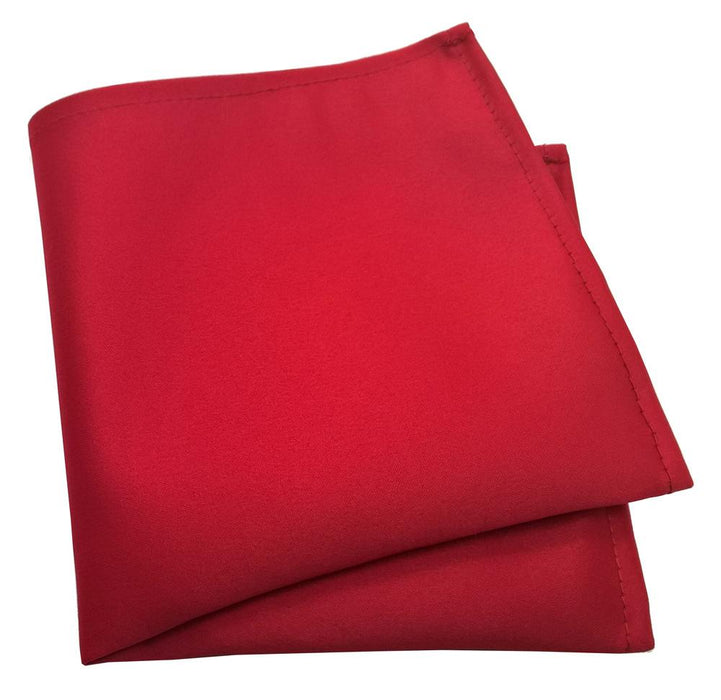 Lava Red Pocket Square - Wedding
