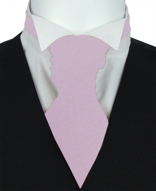 Lavender Frost Boys Pre-Tied Wedding Cravat - Childrenswear